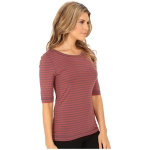 Free People Leader of the Pack Striped Tee S